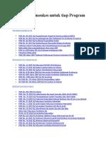 Pedoman Kemenkes Untuk Tiap Program UKM (Akreditasi)