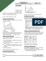 Exames Ordinario y Cepru (Estadistica)