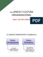 El Gerente y Cultura Organizacional