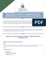 Diplomado en Finanzas y Administración de Inversiones