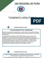 DIAPOSITIVAS CEMENTO CATALITICO