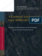 Avi Hurvitz; Leeor Gottlieb, Aaron Hornkohl, Emmanuel Mastéy A Concise Lexicon of Late Biblical Hebrew Linguistic Innovations in the Writings of the Second Temple Period.pdf