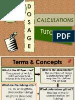 IV Dosage Calculations Tutorial.pptx