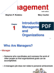 Chapter 1management10theditionbyrobbinsandcoulter 130822064132 Phpapp02