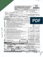 NJTHA 2016 IRS Form 990