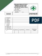 SOP Penilaian Kinerja Petugas Pemberi Pelayanan Klinis, Proses Evaluasi, Hasil Evaluasi Dan Tindak Lanjut