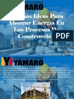 Armando Iachini - Algunas Ideas Para Ahorrar Energía en Los Procesos de Construcción