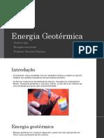 Energia Geotérmica2