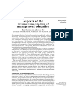 Aspects of Inter Nationalization