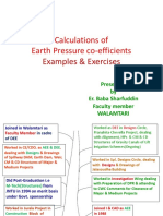 Earth Pressure Coefficients Calculations