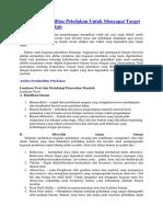 Analisa Produktifitas Peledakan Untuk Mencapai Target Produksi Peledakan.docx