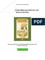 Grandmaster Preparation by Lev Polugaevsky