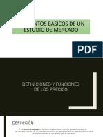 2.2. Elementos Basicos de Un Estudio de Mercado
