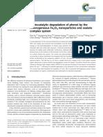 Fe3O4 Degradation Phenol