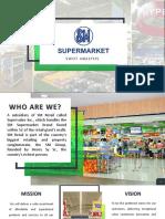 Sm Supermarket Swot Analysis