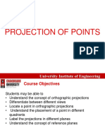 2. Projection of Points