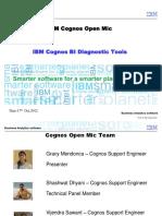 Diagnostic Tool Cognos