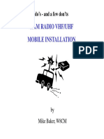 Mobile Installation