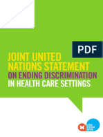 Ending Discrimination Healthcare Settings En