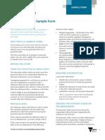 SOP Sample Form Payment Claim