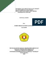 Proposal PDF Fix Endry Himawan Budi s