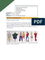 Elements of Clothing Design
