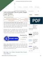 Cara Download File Di Scribd Tanpa Login Terbaru