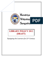 KVS Library Policy Draft2012