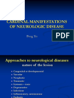 CARDINAL MANIFESTATIONS OF NEUROLOGIC DISEASE.ppt