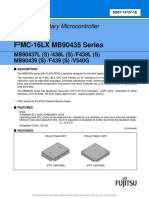 MB90F439S 16 Bit Controller Data Sheet