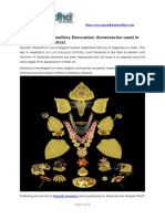 Gauri Ganpati Jewellery Decoration Accessories Used in Ganesh Festival 2018
