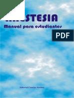 Anestesia para estudiantes. MANUAL CUBANO.pdf