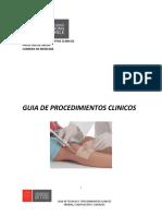 guia procedimientos clínicos