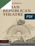 Manuwald - Roman Republican Theatre