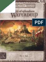 D&D 3ªEd -Forgotten Realms - City of Splendors Waterdeep