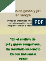 Analisis de Gases en Sangre