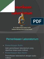 Pemeriksaan Lab Untuk Coass2