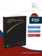 A Guide to the Automation Body of Knowledge Third Edition Excerpt