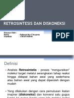 BAB 2 Retrosintesis Dan Diskoneksi