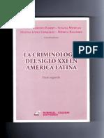 2002 Elbeert-Murillo La Criminologia Del Siglo XXI en America Latina