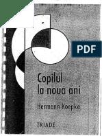 Copilul la noua ani -Hermann Koepke