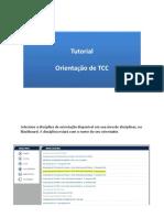 Tutorial Orientação TCC 2018