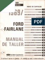 Manual de Taller Ford Fairlane