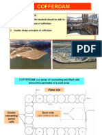 Cellular Cofferdam