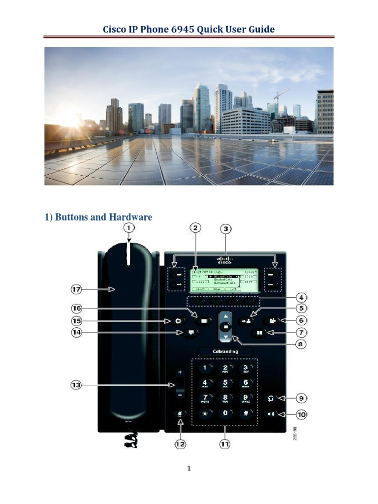 Cisco IP Phone 6945 User Guide | Conference Call | Telephone