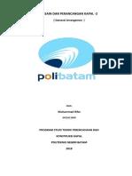 Laporan Tugas Rencana Umum Kapal