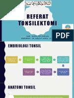 tonsilektomi