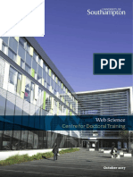 Web Science Centre for Doctoral Training 2017-2018 Research Booklet