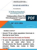 MSRDC Road Development in India August2016