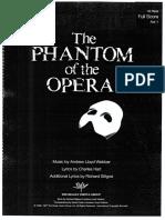 Phantom of the Opera (45 Piece) FS Vol.1